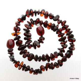 Chips Baltic Amber Teething Necklace for Baby