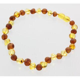 Multi Baltic Amber Bracelets Anklets 25cm