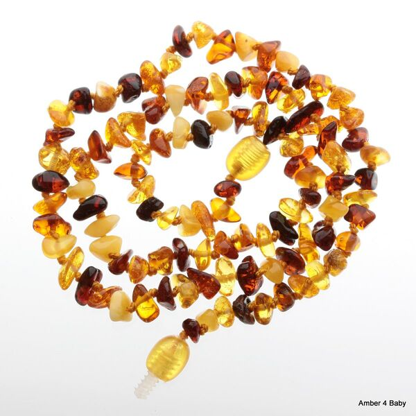 Chips Baltic Amber Necklace for Adults