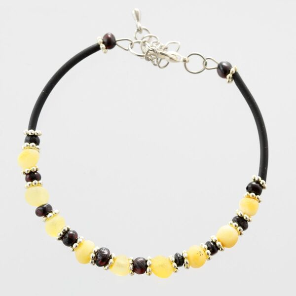 Baltic Amber Bangle Bracelet for Adults
