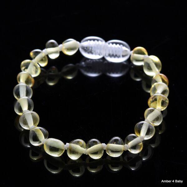 Baltic Amber Teething Bracelet for Babies