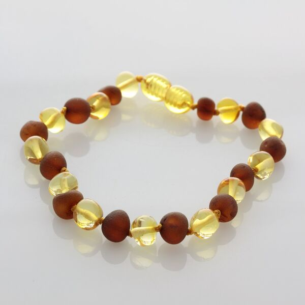 Multi Baltic Amber Bracelet for Adults